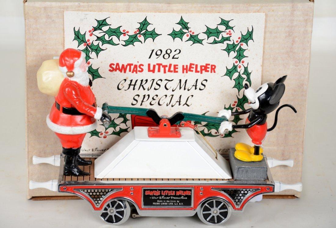 Pride Lines St Ga. Santas Little Helper Handcar