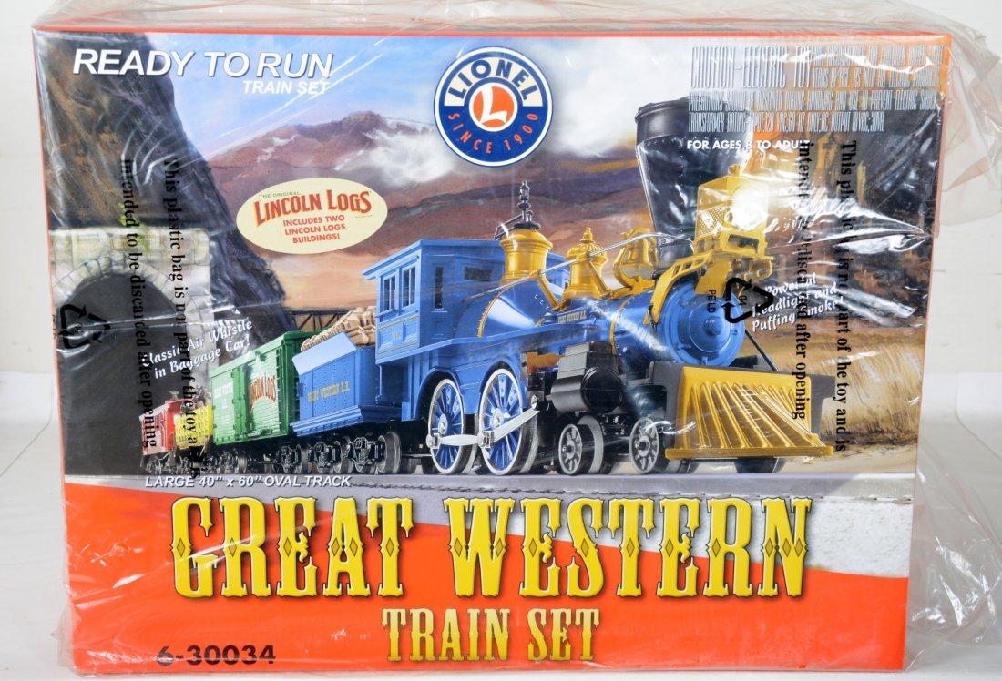 Lionel 30034 Great Western Train Set