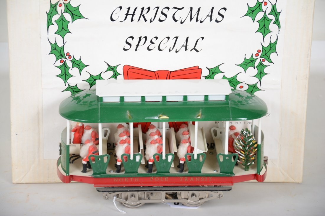 Boxed Pride Lines Christmas Trolley