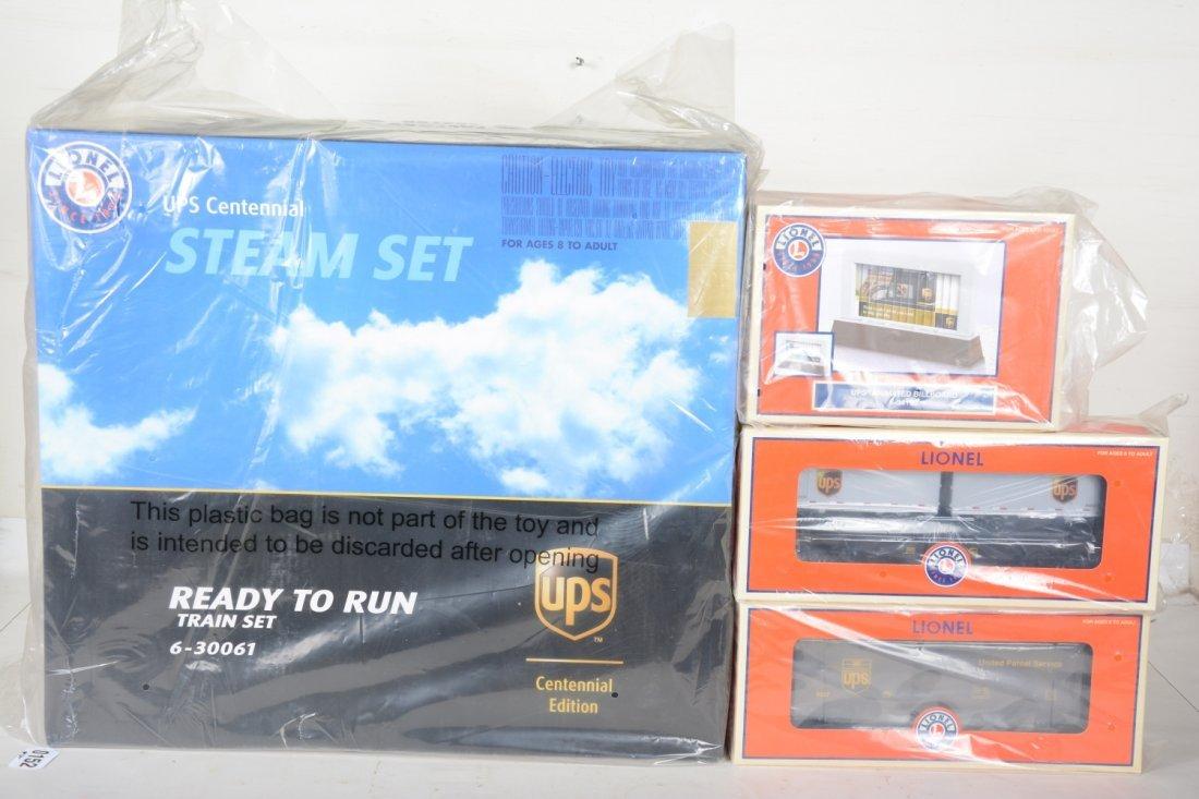 Lionel 30061 UPS Centennial Steam Set, Plus