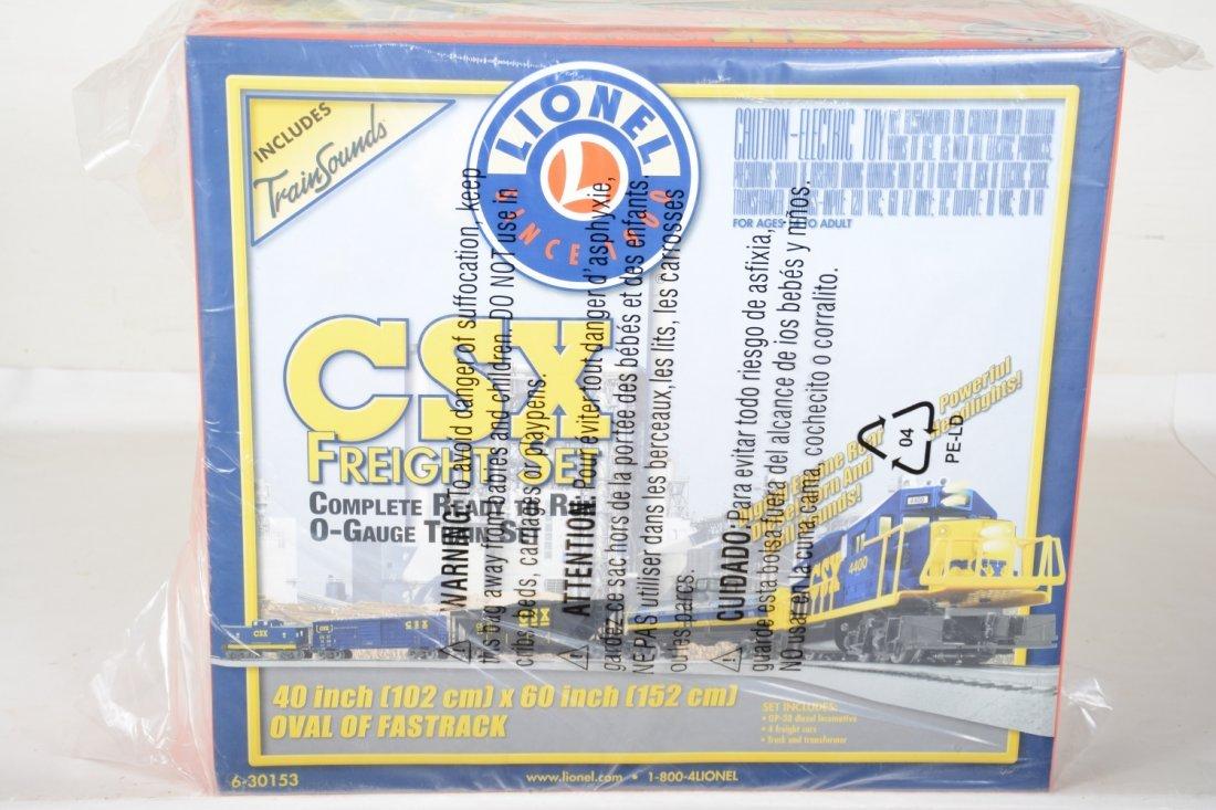 Lionel 30153 CSX Diesel Freight Set