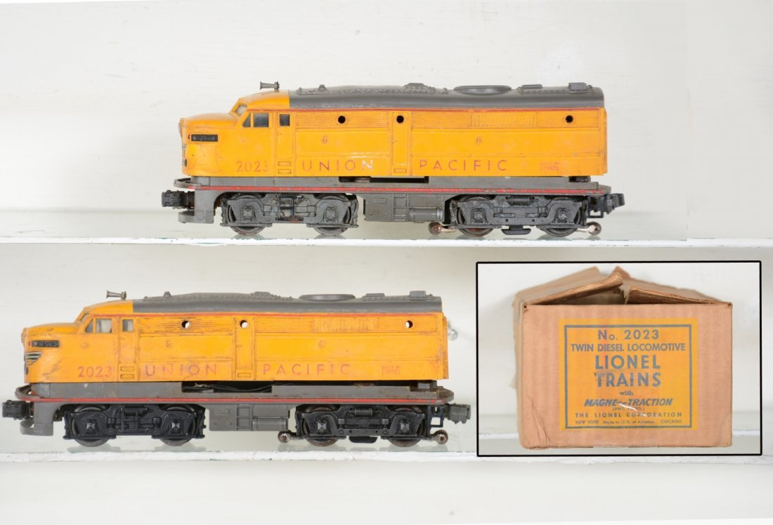 Boxed Lionel 2023 UP Anniversary Diesels