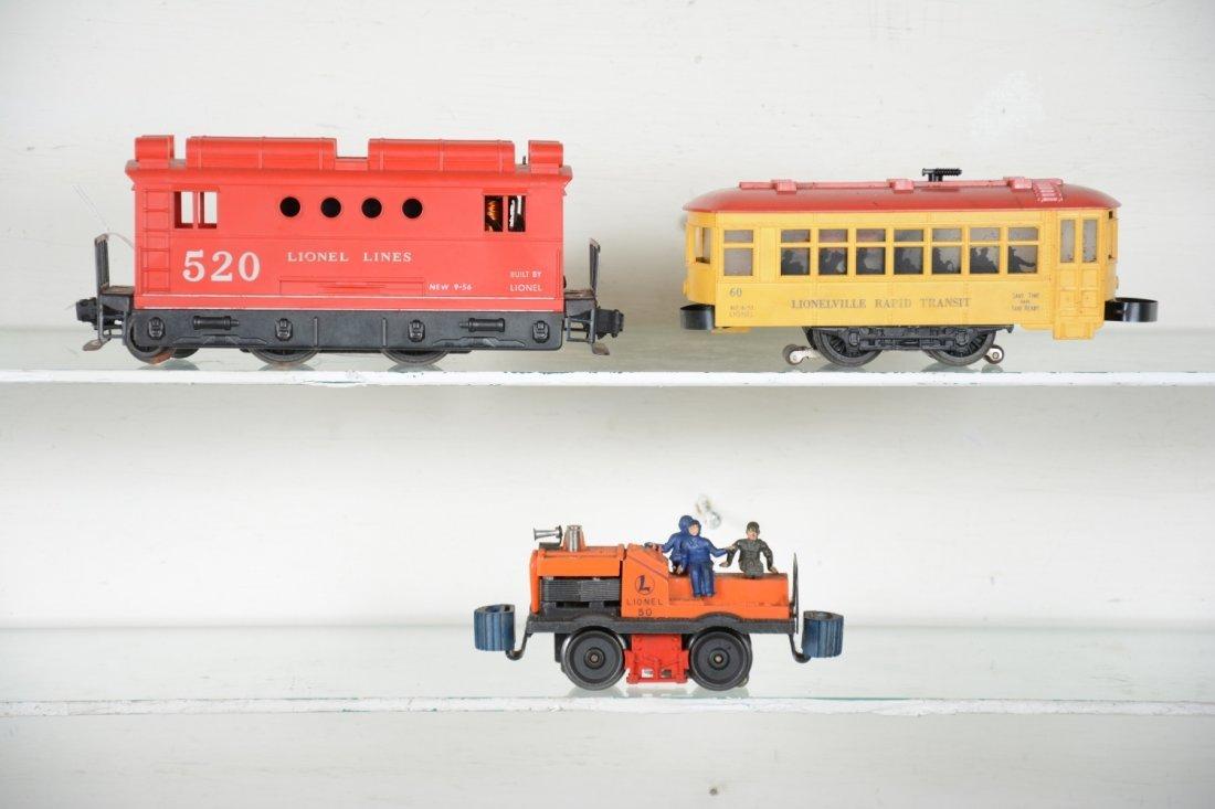 Lionel 50, 60 & 520 Motorized Units