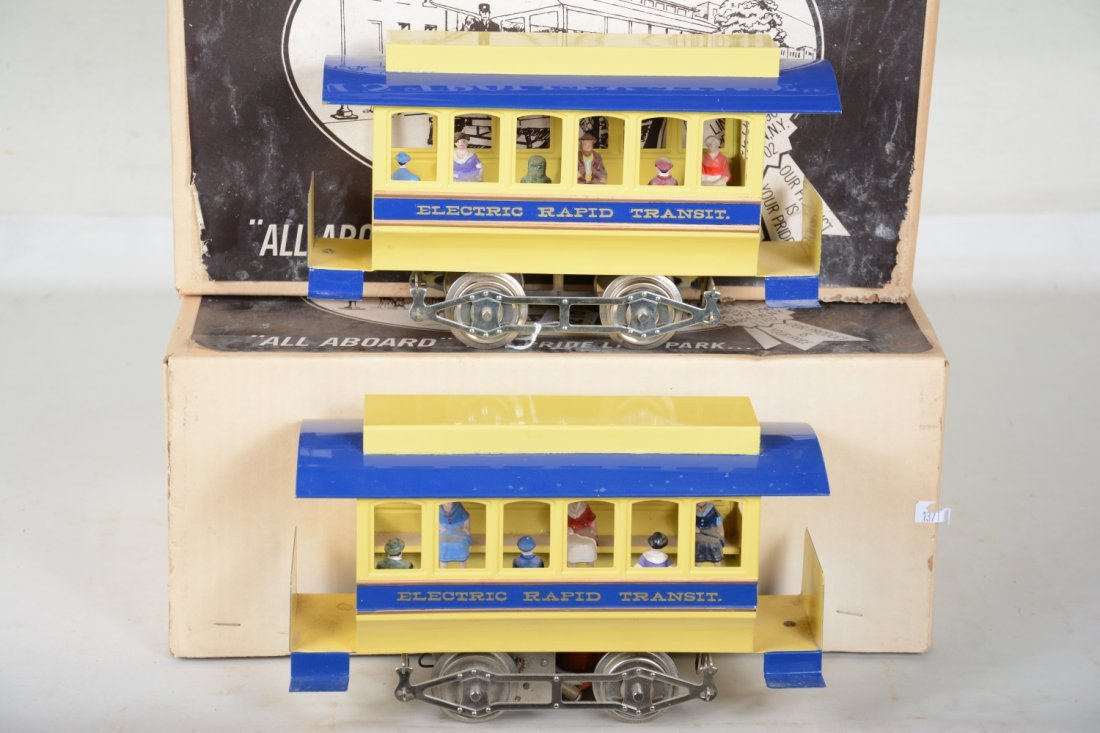 Boxed Early Pride Lines Blue No 1 Trolley & Trailer