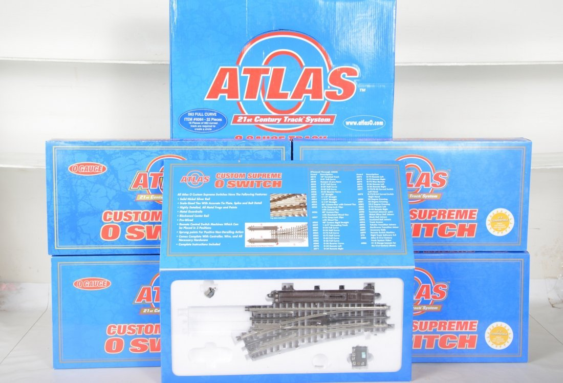 Boxed Atlas Track