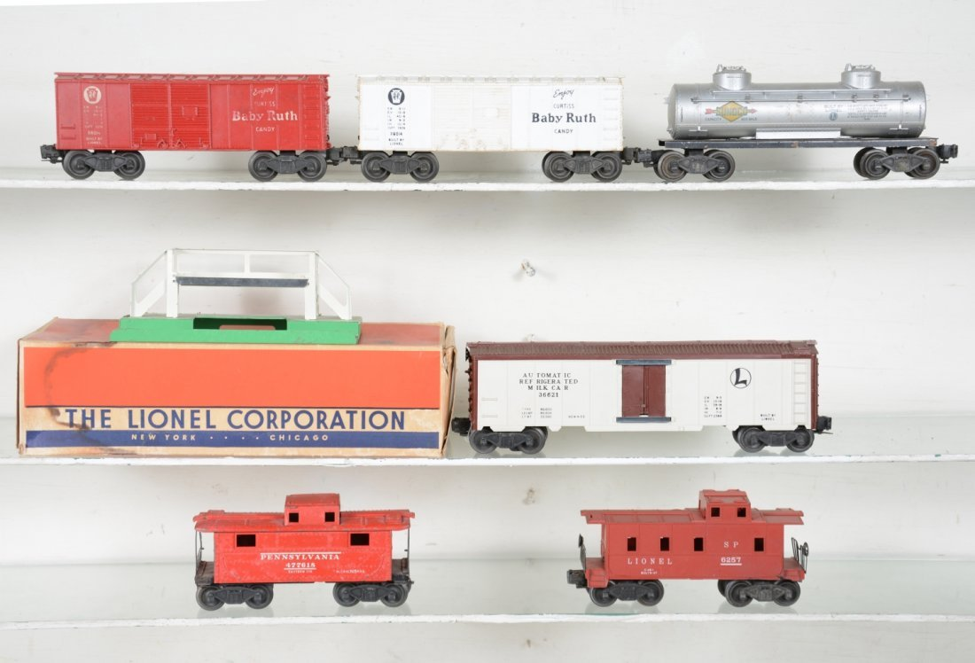Lionel Freight Cars, Some Boxed
