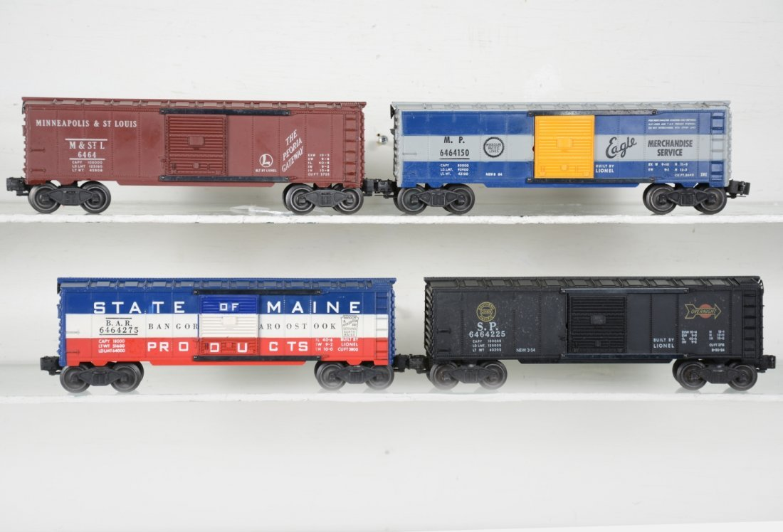 Lionel 6464 Boxcars