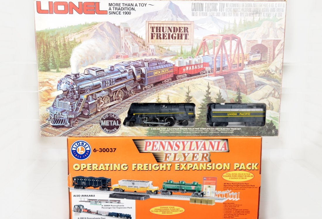 Lionel 1151 & 30037 Freight Sets