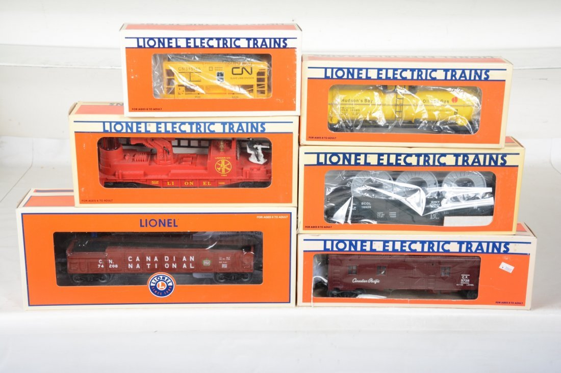 Lionel Freight Cars