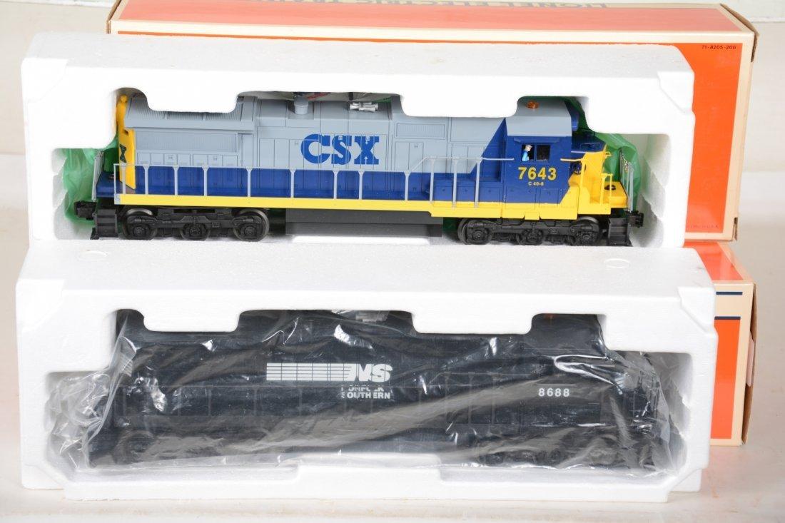 2 Lionel Dash 8 40B Diesels, 18215 & 18213