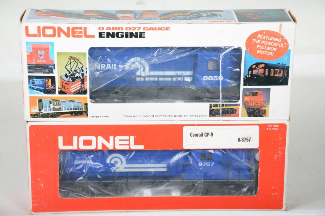 O Ga. 2 Lionel MPC Conrail Locomotives