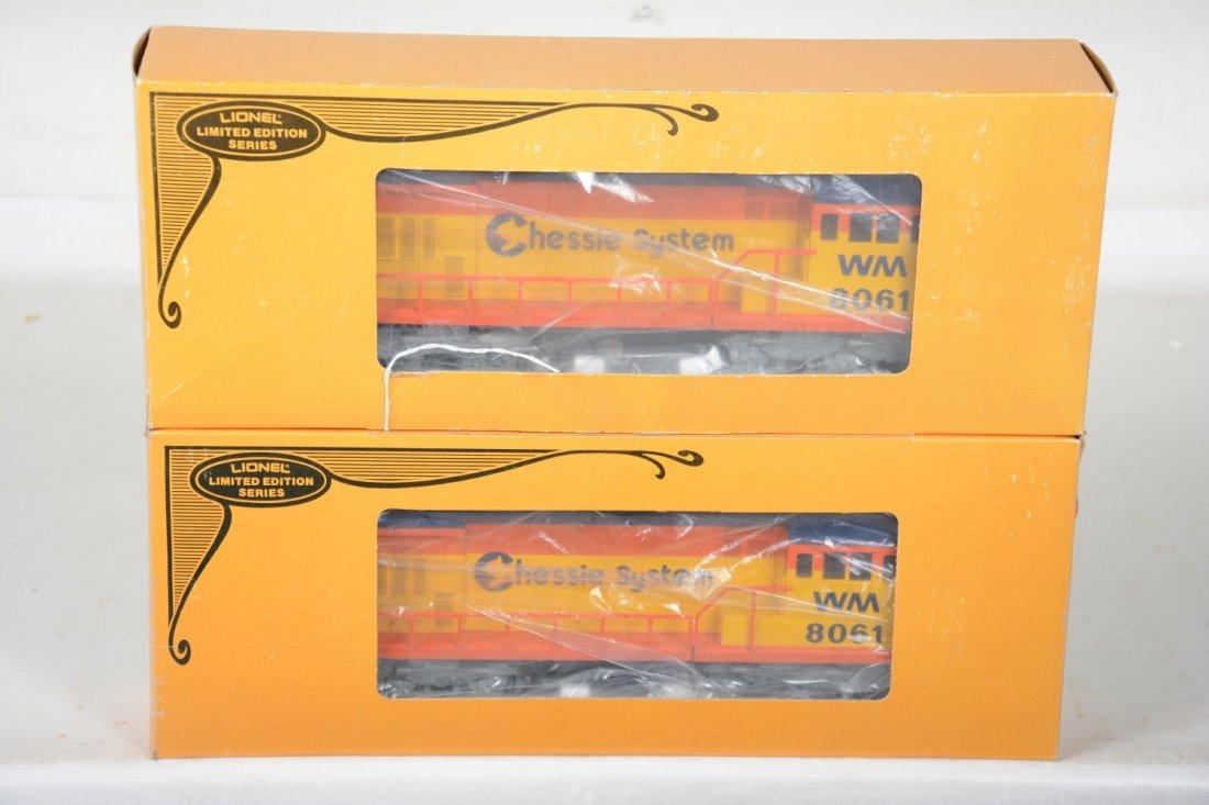 2 Lionel MPC 8061 Chessie U36B Diesels