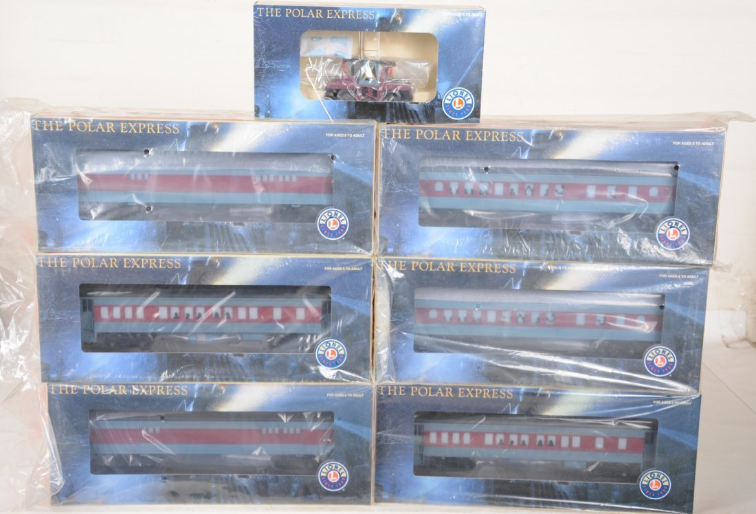 Lionel Polar Express Cars