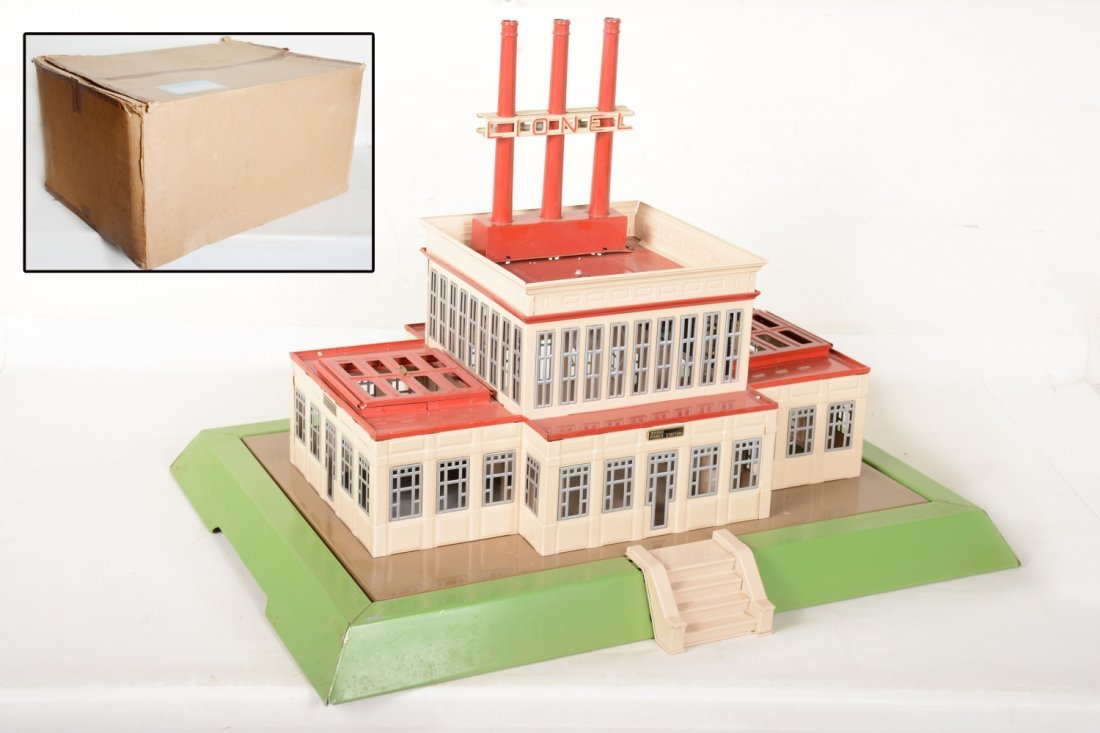Boxed T-Repro Lionel 840 Power Station