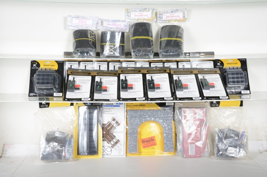 Dealer Lot K-Line Accessories, Plus