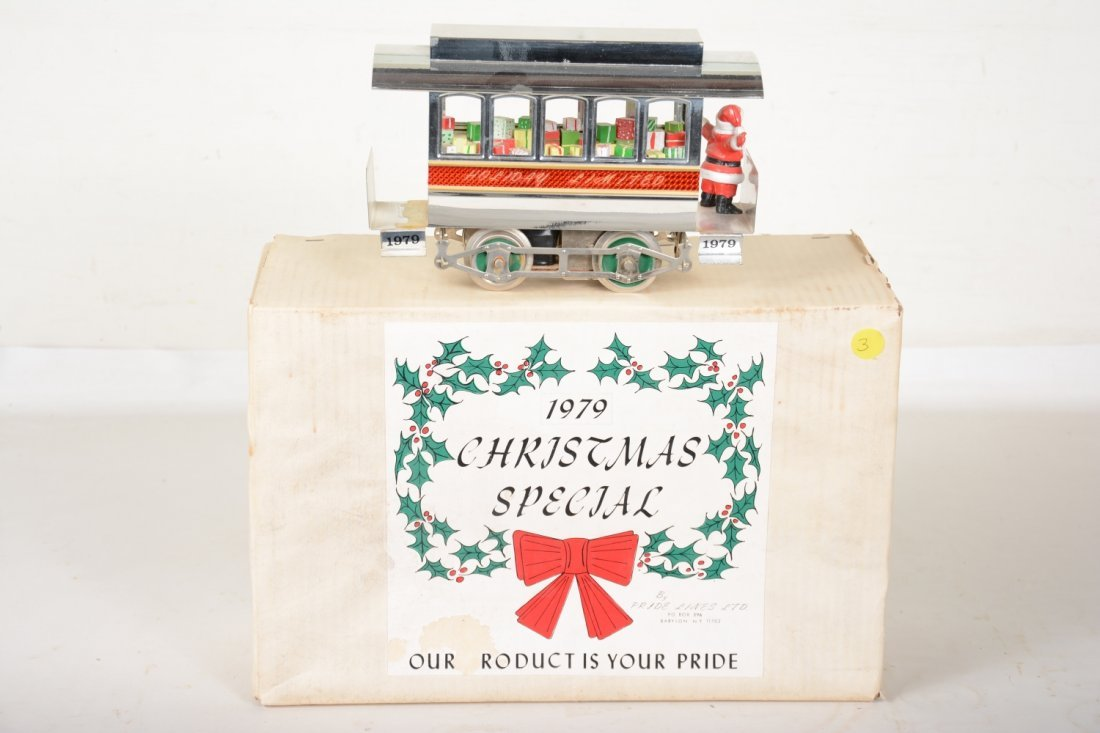 Boxed Early Pride Lines 1979 Christmas Trolley