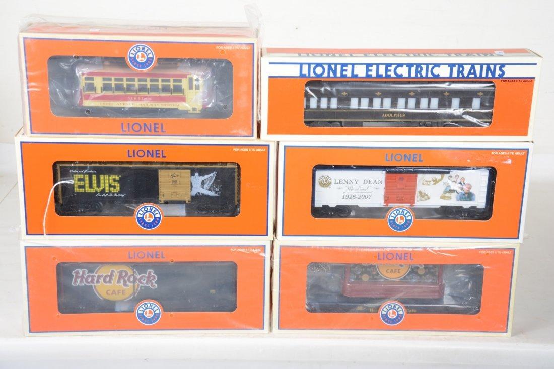Lionel Freight & Passenger Cars; Plus