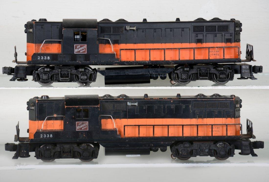 2 Lionel 2338 MR GP7 Diesels