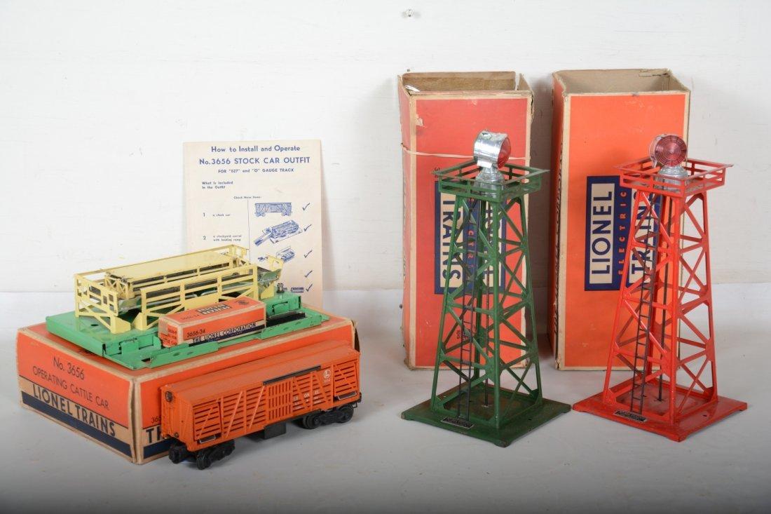 3 Boxed Lionel Accessories