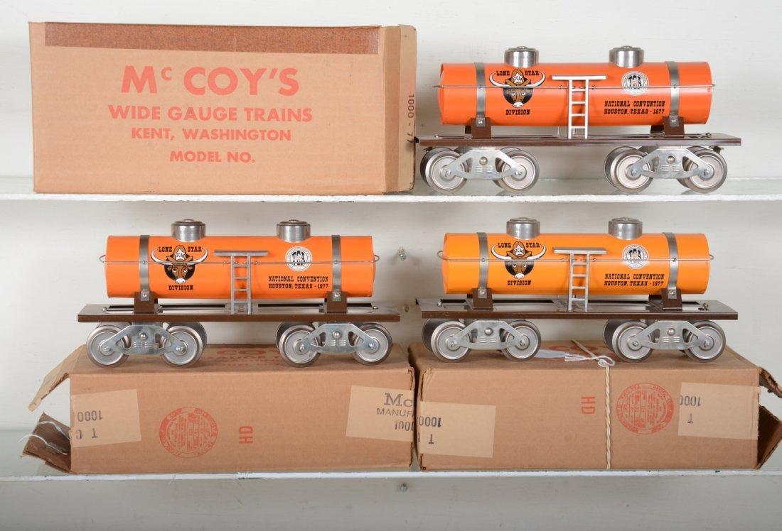 3 Variations Mc Coy 1000-77 TCA Tank Car