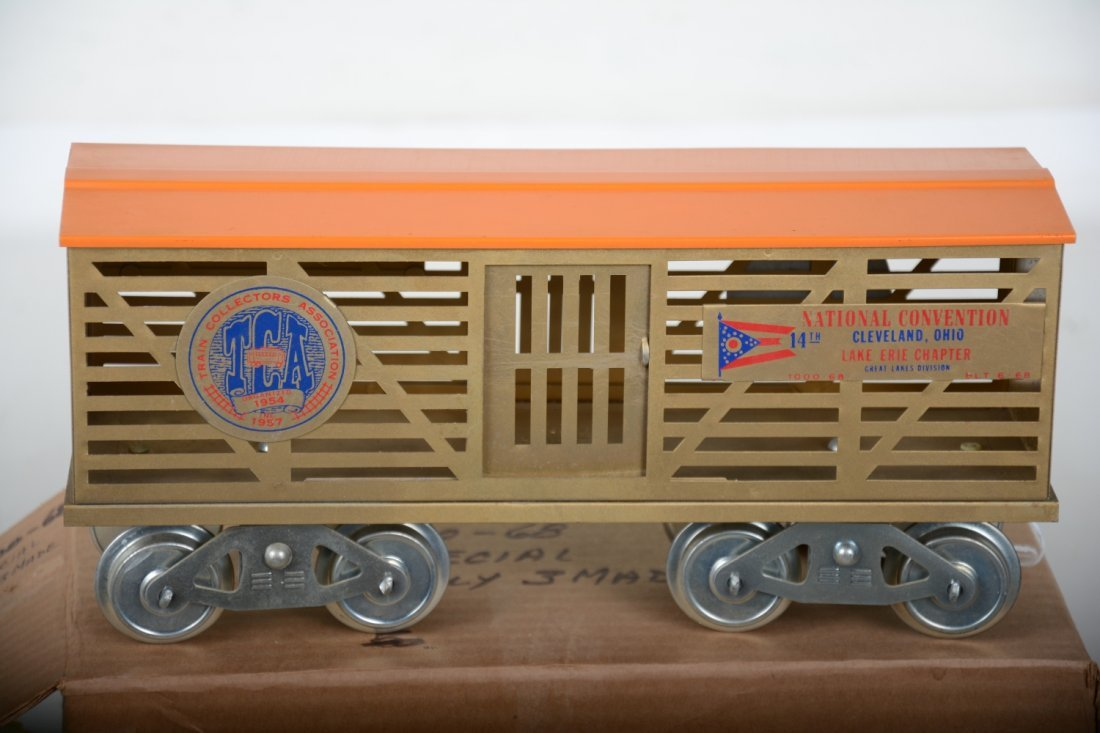 Scarce Mc Coy 1968 Brass TCA Stock Car