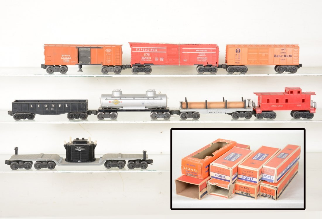 Boxed Lionel Rolling Stock