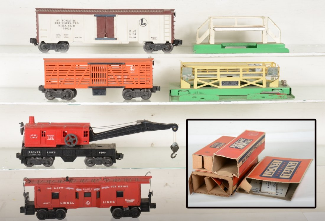 Boxed Lionel Freight Cars