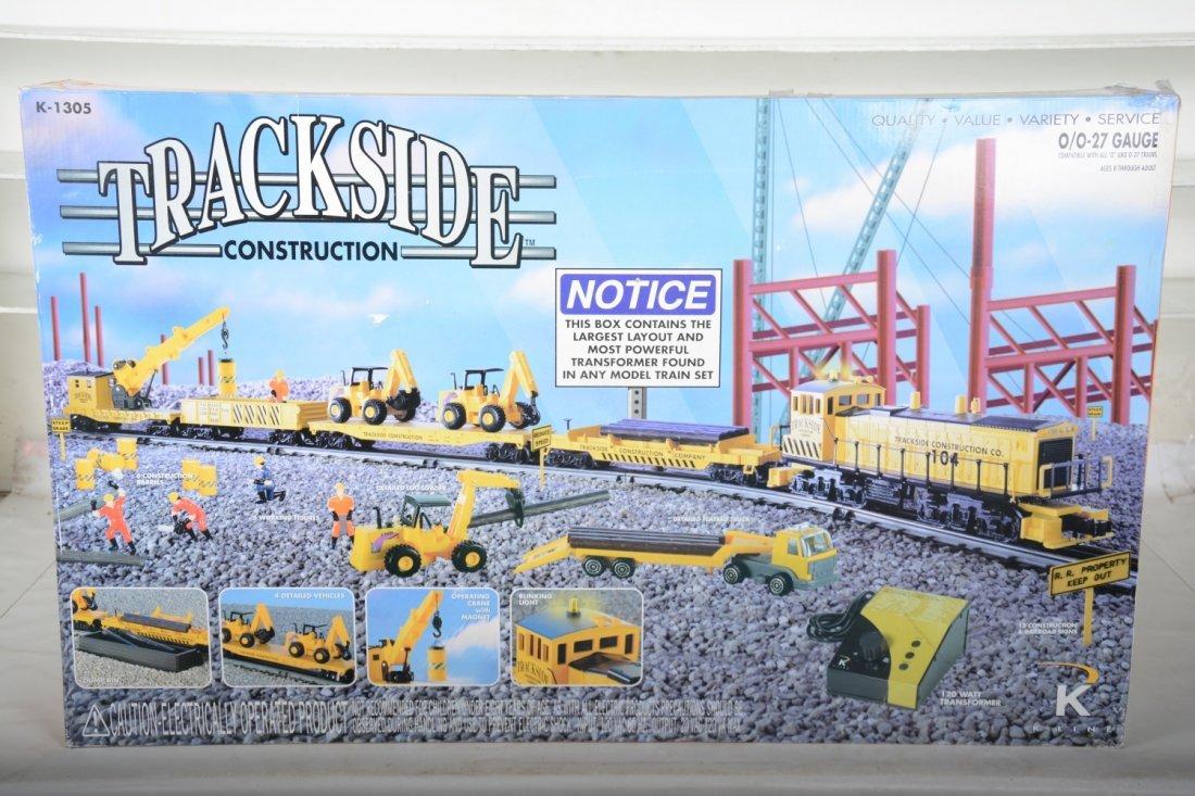 K-Line 1305 Trackside Construction Set