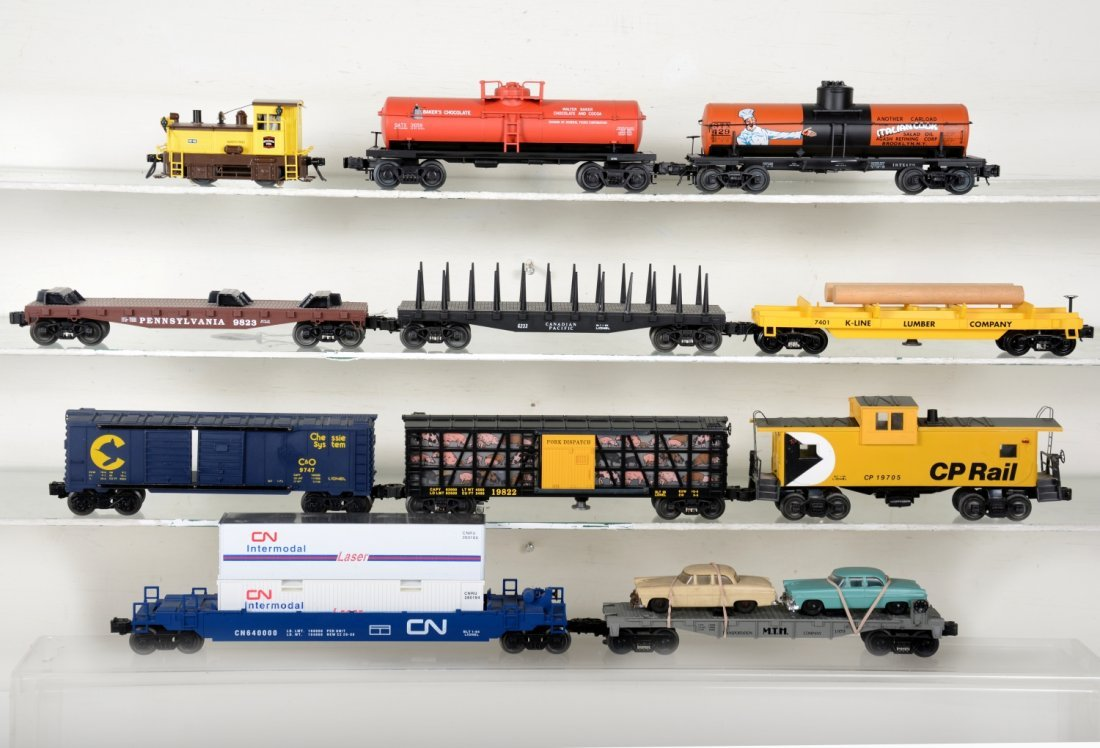 Loose Modern Trains Lot