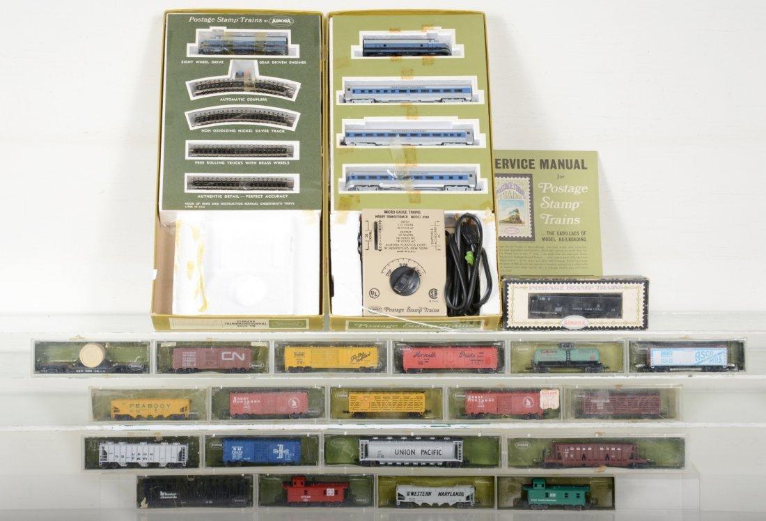 Boxed Aurora Postage Stamp N Gauge Trains