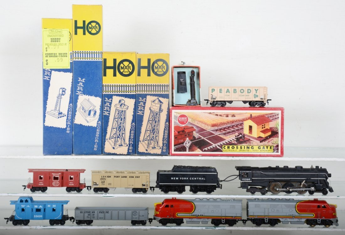 Marx & American Flyer HO Trains Lot