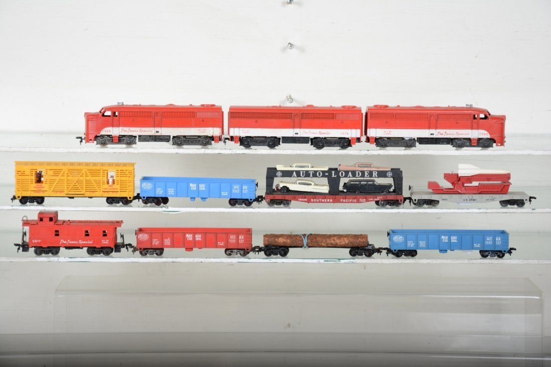 Lionel HO Texas Special Freight Set