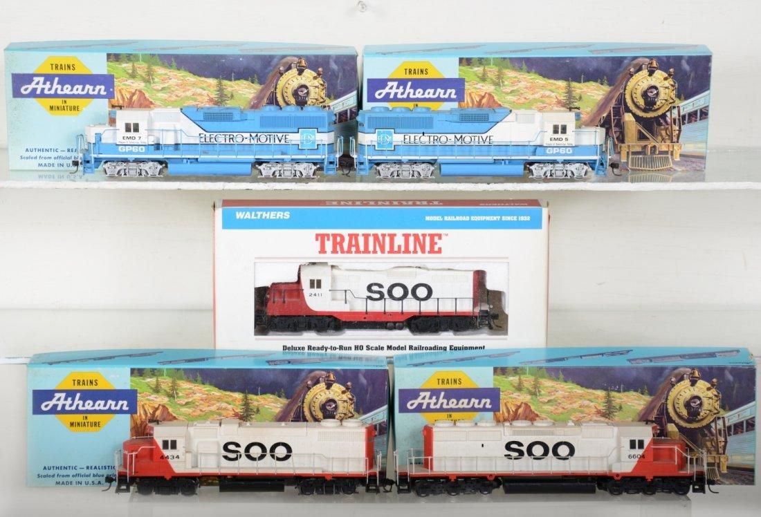 HO GA Boxed Diesel Locomotives