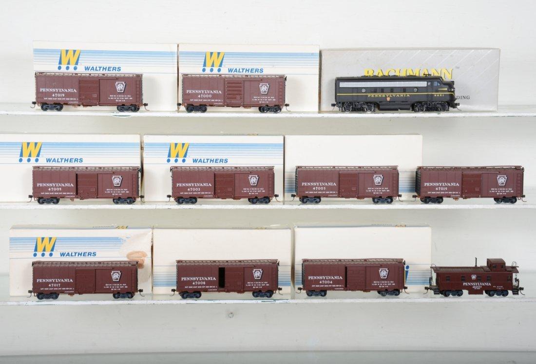 HO GA PRR Diesel Set, Most Boxed