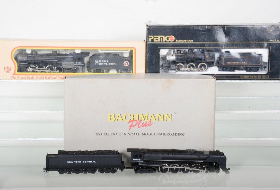 HO GA Steam Locomotives, Most Boxed