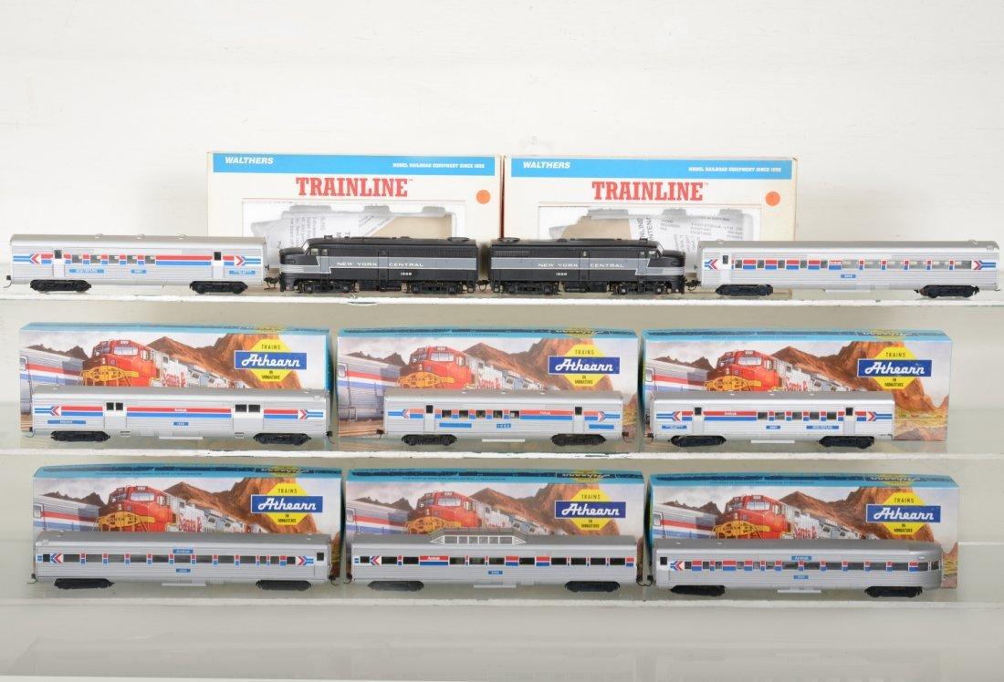 HO GA NYC Amtrak Passenger Set