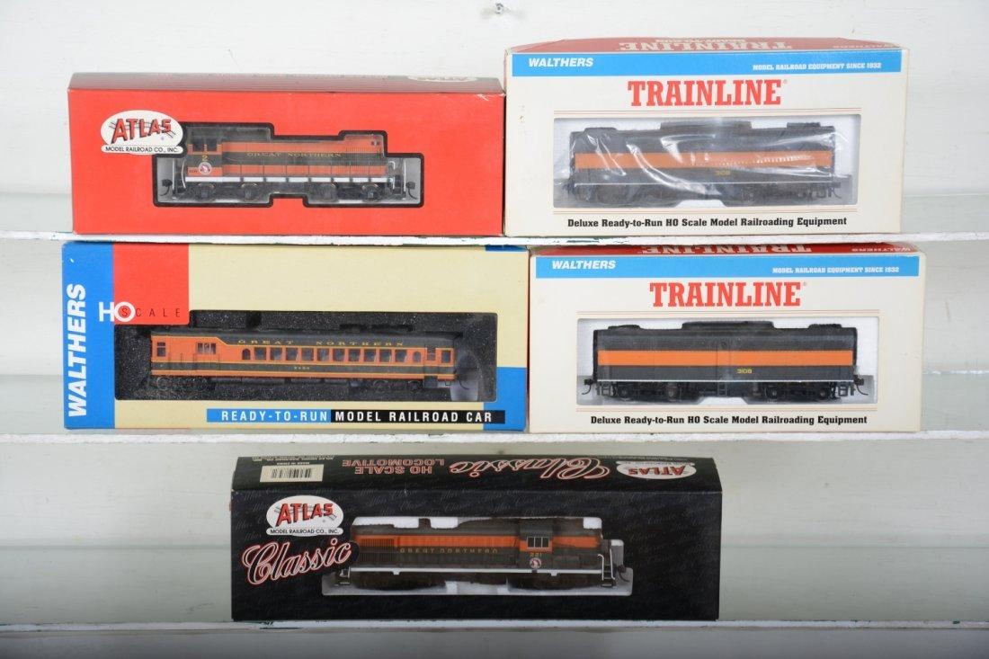 HO GA Boxed Great Northern Diesels