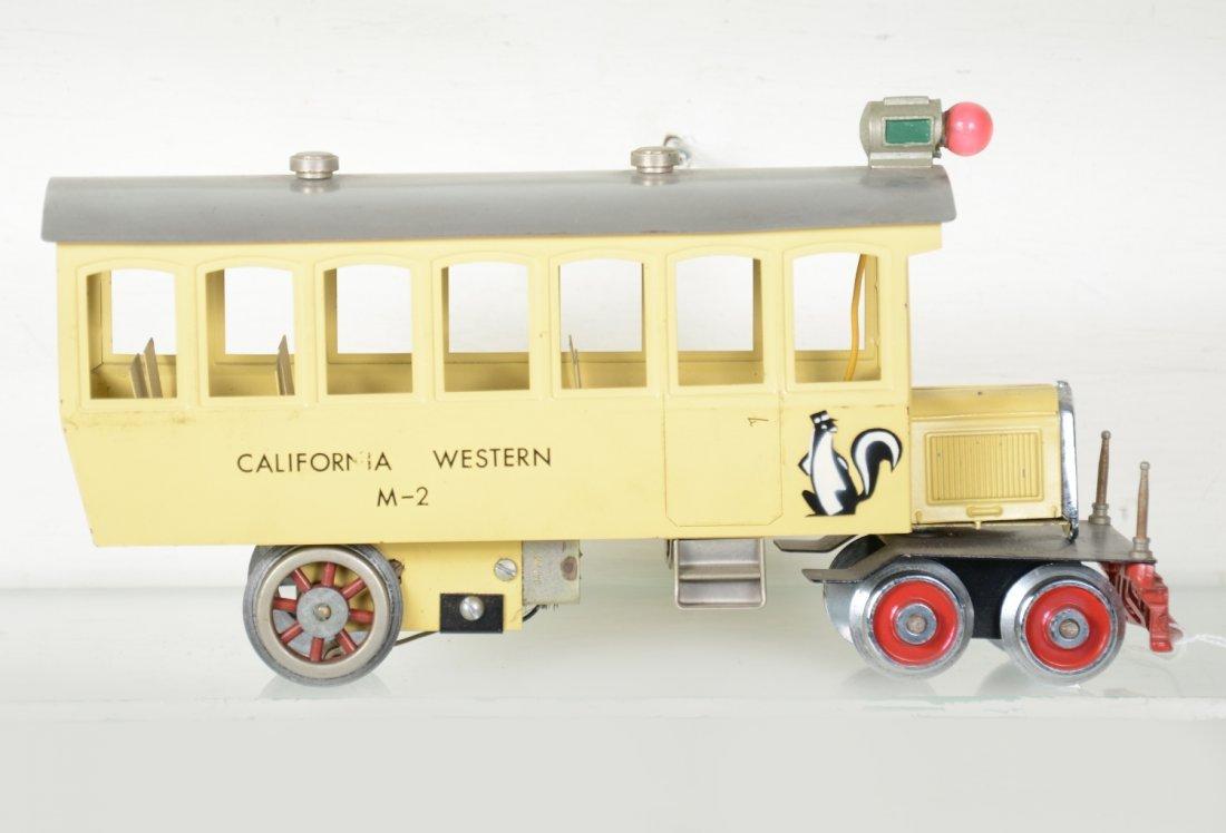 Unusual Mc Coy California Western Rail Car