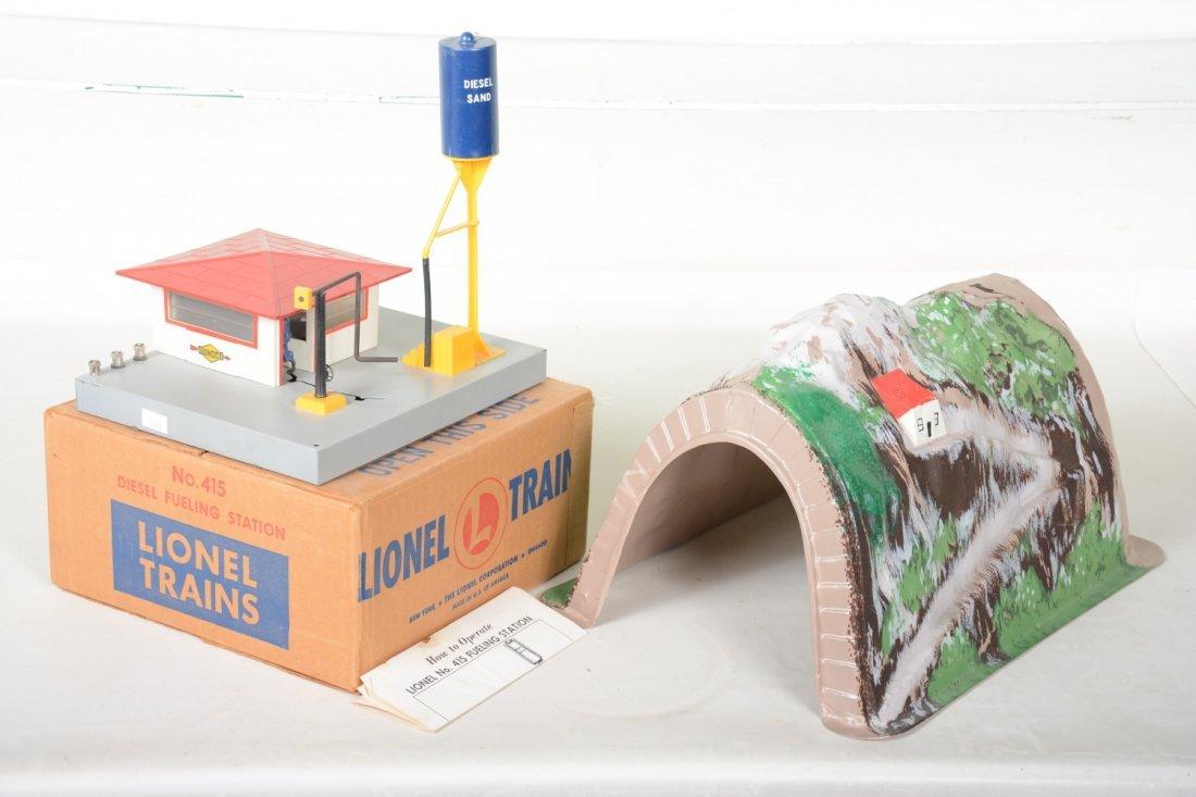 Lionel Scarce 119 & Boxed 415 Accessories
