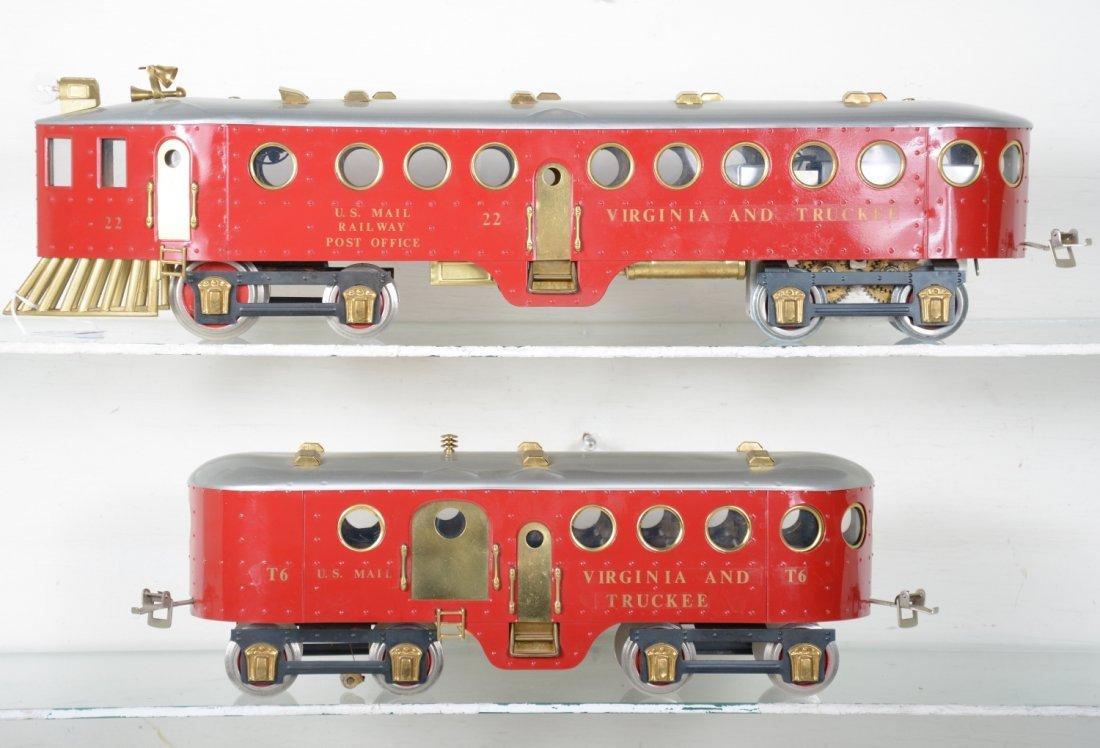 Unusual Richart McKeen Railcar & Trailer