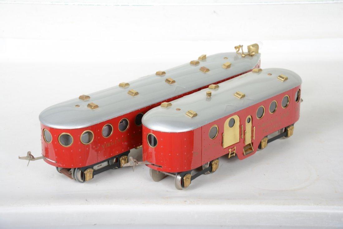 Unusual Richart McKeen Railcar & Trailer - 4