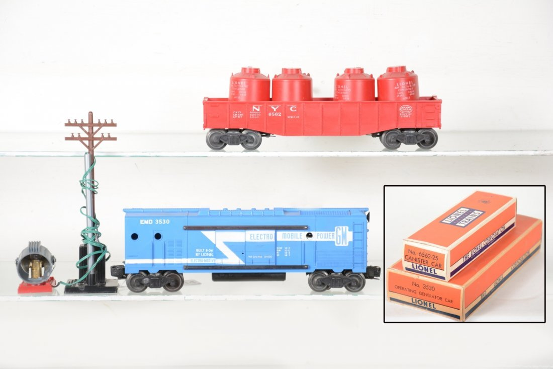 Clean Boxed Lionel 3530 & 6562 Freights