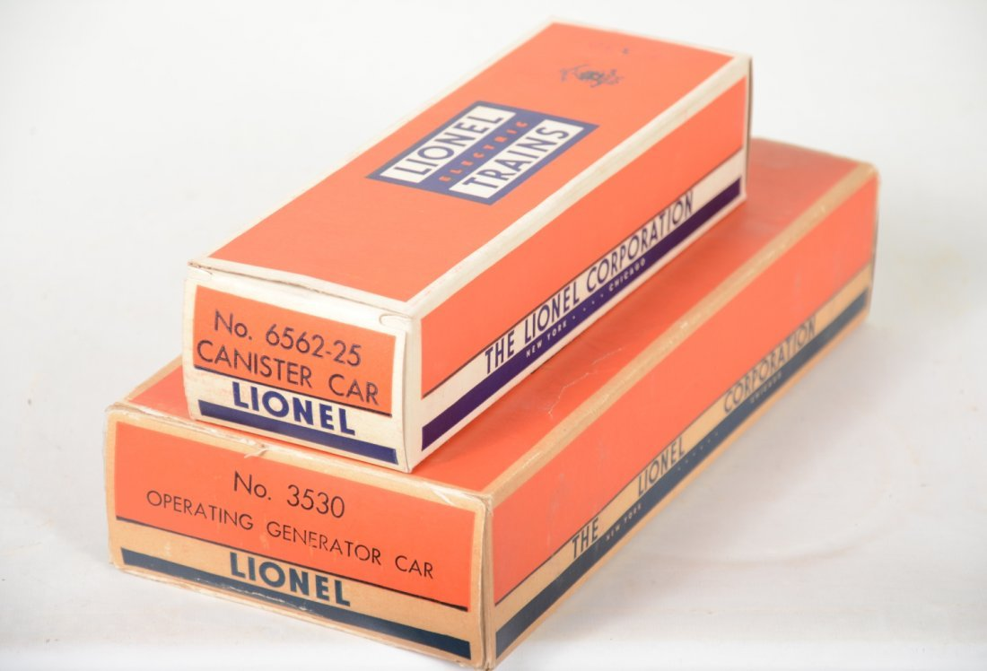 Clean Boxed Lionel 3530 & 6562 Freights - 5