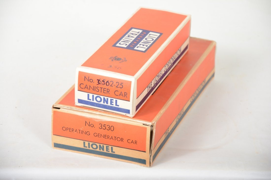 Clean Boxed Lionel 3530 & 6562 Freights - 6