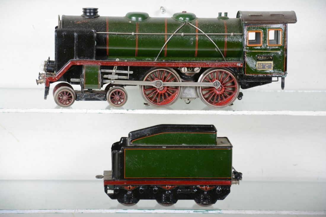 Marklin E66/12921 Steam Locomotive - 2