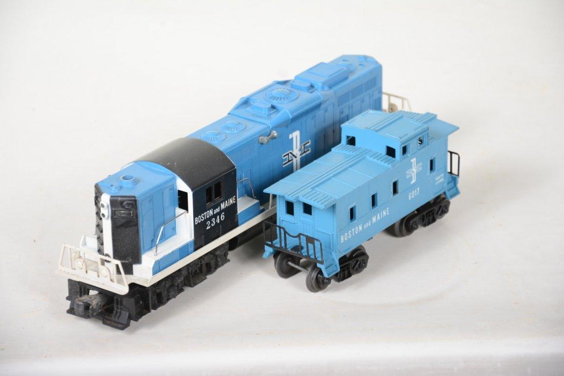 Nice Boxed Lionel 2346 B&M GP9 & Caboose - 3