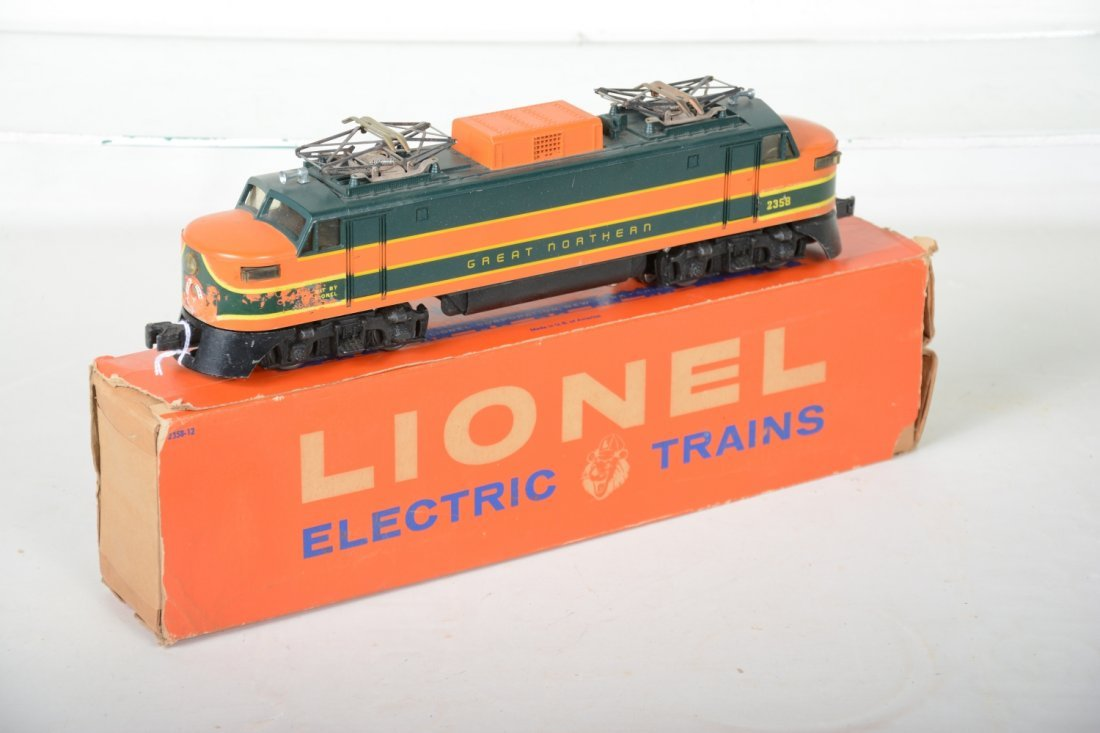 Scarce Boxed Lionel 2358 GN EP5