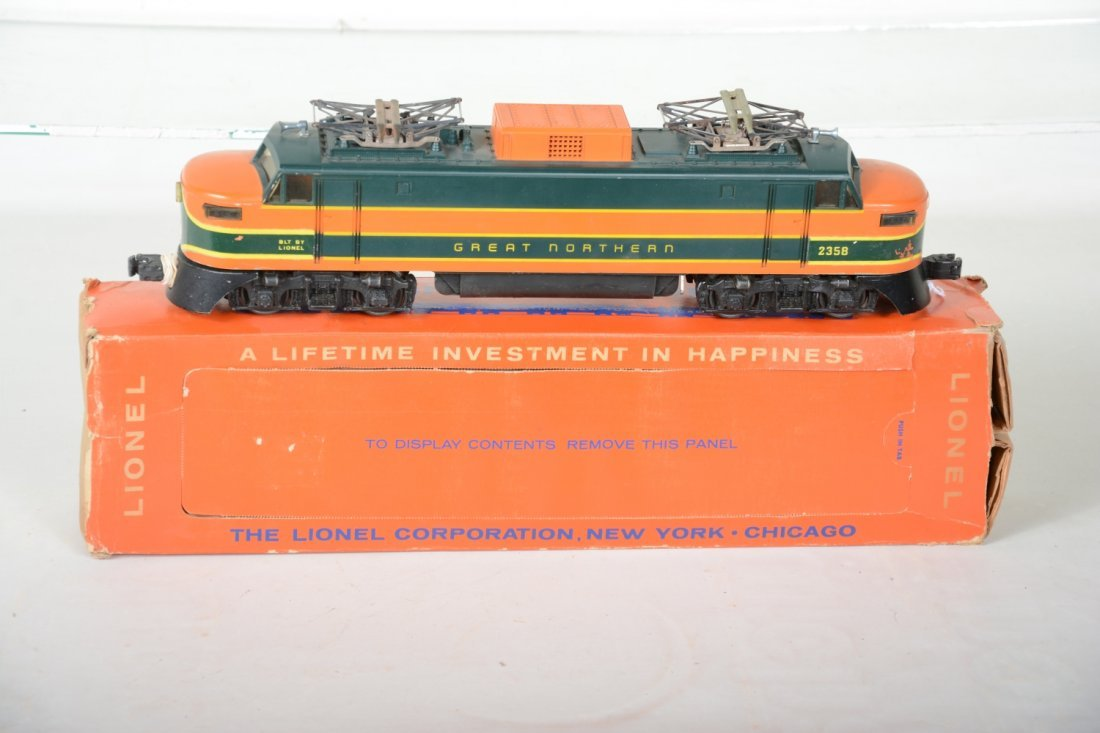 Scarce Boxed Lionel 2358 GN EP5 - 3