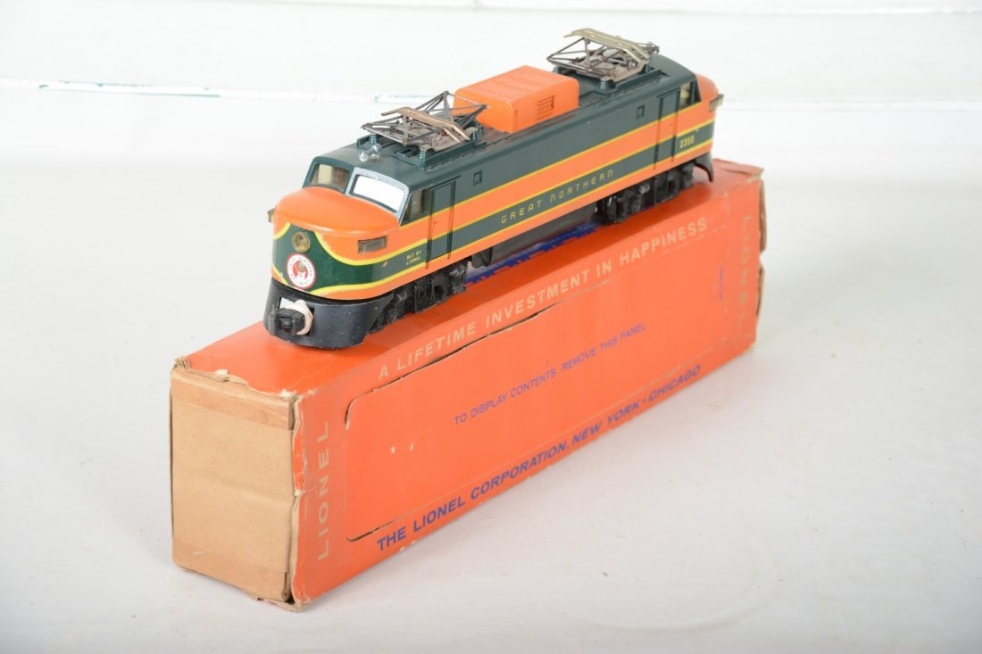 Scarce Boxed Lionel 2358 GN EP5 - 4