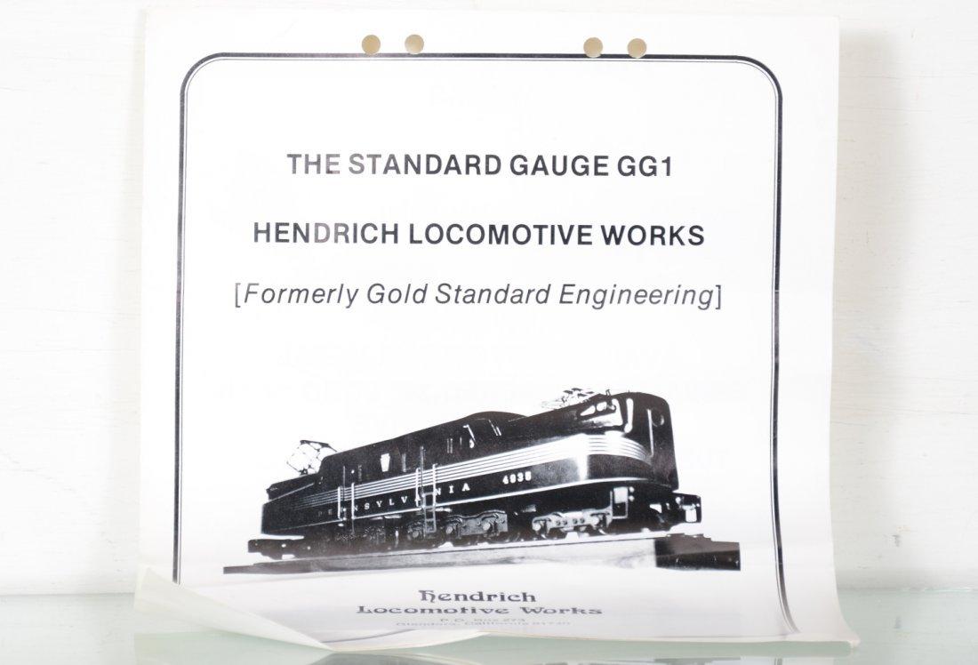 Unusual Hendrich 4935 PRR GG1 - 5